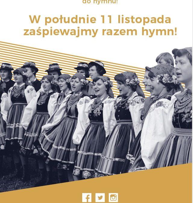 Razem zaśpiewajmy hymn!