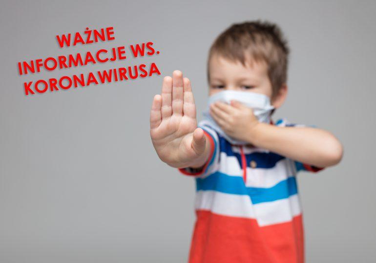Ograniczenie kontaktów między ludźmi naszą najlepszą bronią w walce z koronawirusem