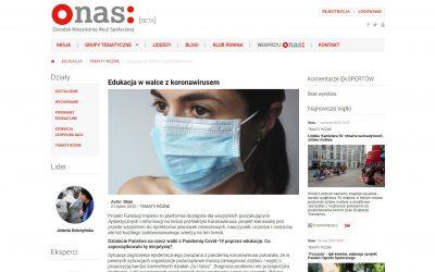 Projekt Fundacji Imperio popularny w mediach. Przeczytaj o nas!
