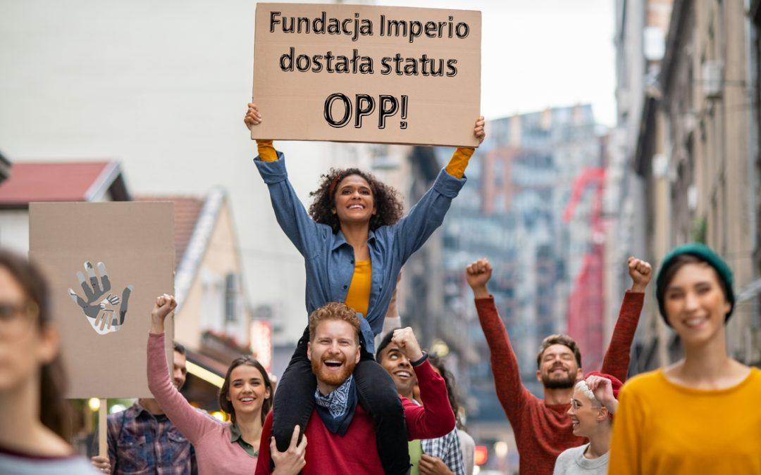 Fundacja Imperio wśród Organizacji Pożytku Publicznego (OPP)